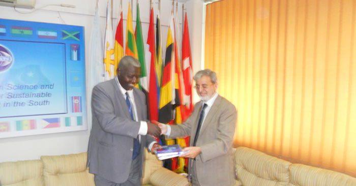 Visit Of The Minister For Higher Education Scientific Research Republic Of The Sudan To Comsats Secretariat Islamabad Comsats Secretariat